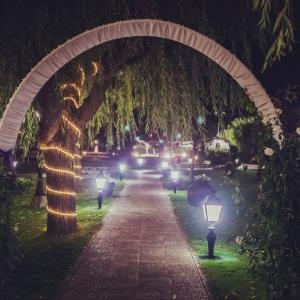 Iluminación de Jardines Conde Rodrigo